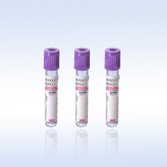康健 塑料 紫帽 Edta K2(二钾) 血常规管采血管 2ml(13*75mm) 100支/包