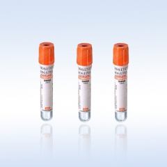 康健 玻璃 橙帽 促凝管 采血管 10ml(16*100mm 100支/包