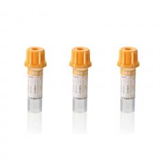 康健 KJ001 黄帽 分离胶 末梢采血管 0.5ml 500支/包
